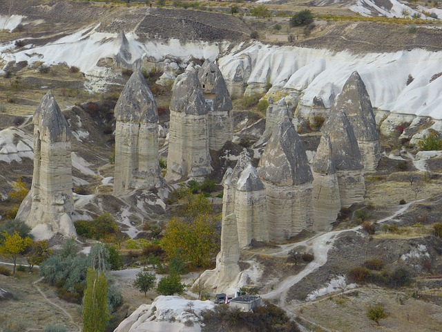 Fairy Chimneys, Tufa, Cappadocia, Rock Formations