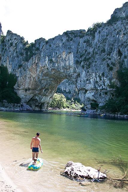Ardèche, Rock Gate, Stone Arch, Waters, Gorge, Tourist