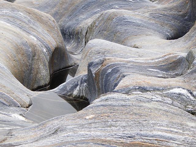 River, Rock, Soft, Granite, Water, Nature, Landscape