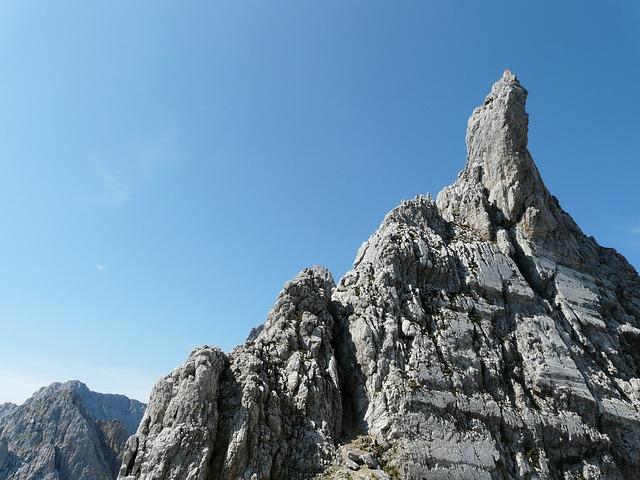 Head Törl, Pinnacle, Rock Points, Limestone, Rock