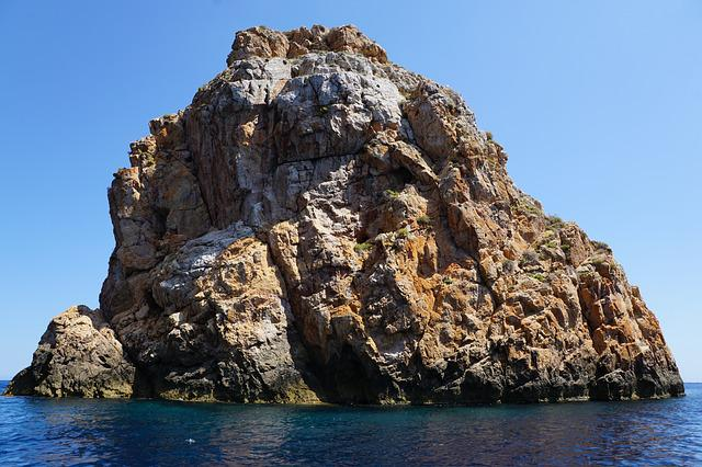 Ibiza, Rock, Sea, Water