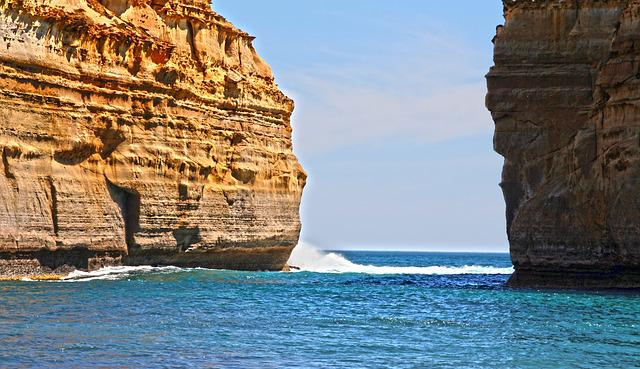 Great Ocean Road, Loch Ard Gorge, Booked, Sea, Rock