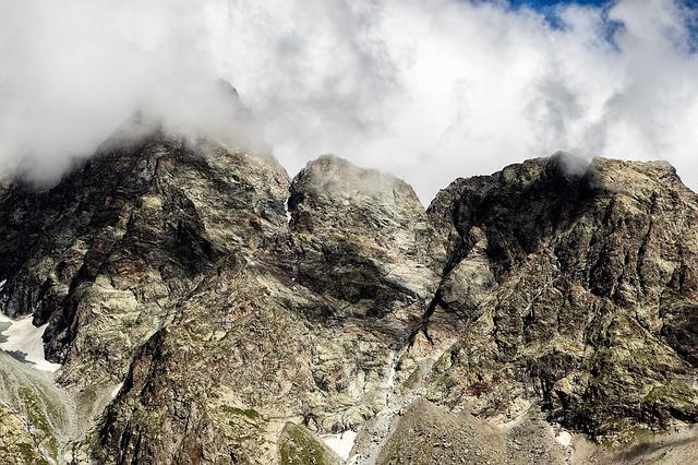 Nature, Landscape, No Person, Mist, Rock, Mountain