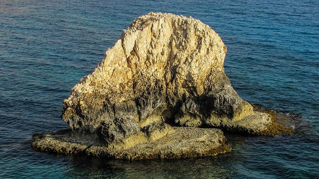 Cyprus, Ayia Napa, Rock, Sea, Nature