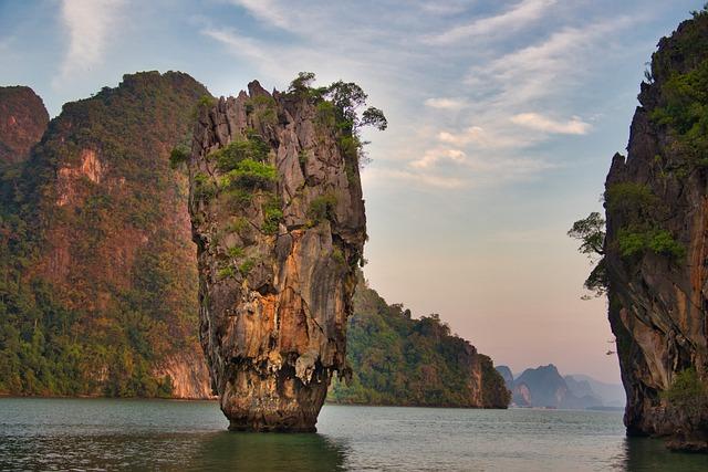 Khao Phing Kan, James Bond Island, Rock, Pinnacle