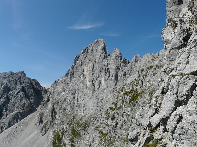 Ellmauer Halt, Rock Points, Rocky Towers, Mountains