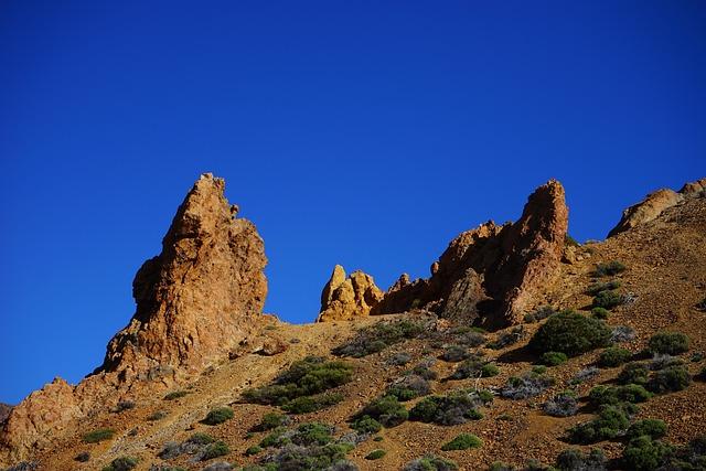 Roque De Garcia, Ucanca Level, Rock Needles, Rock