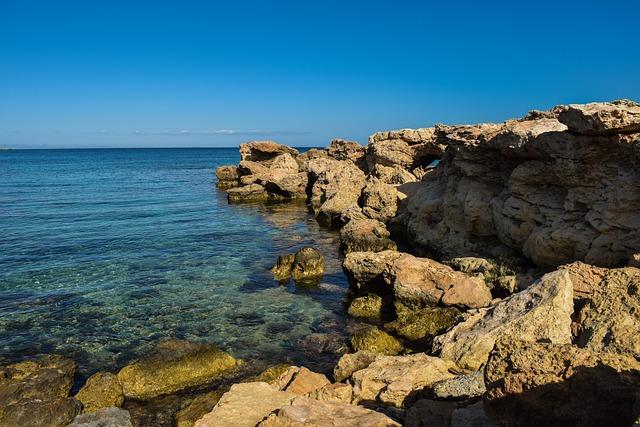 Rocky Coast, Sea, Seashore, Rock, Nature, Landscape