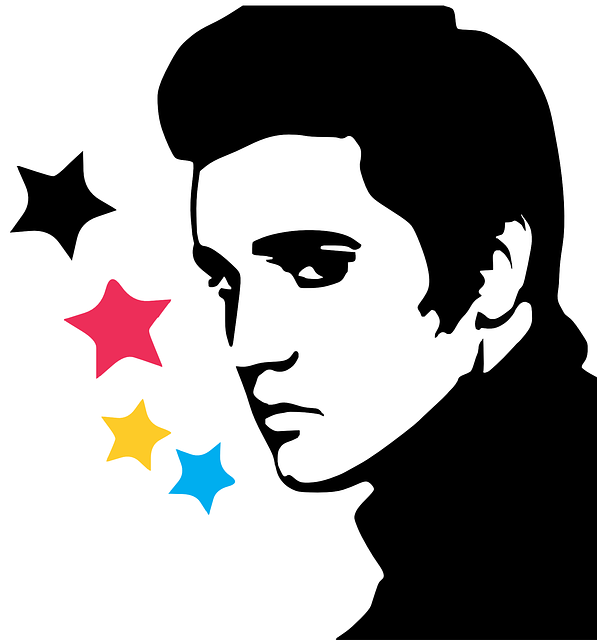 Elvis Presley, Young, Rock Star, Stars, Man, Person