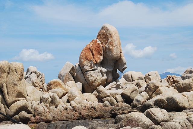 Stones, Rock, Structure, Corsica, Cliff