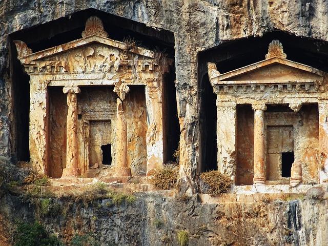 Rock Tombs, Turkey, Dalyan, Historically