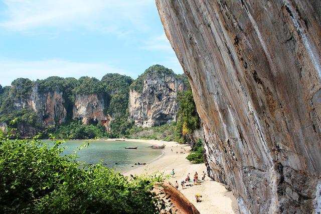 Climbing Wall, Nature, Rock Wall, Beach, Rock