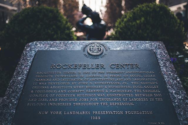 Newyork, Manhattan, Rockefeller, Nyc