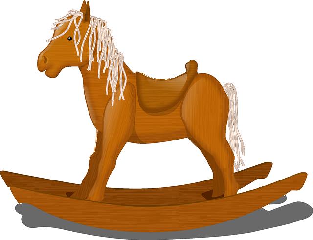 Rocking Horse, Rocker, Children, Play, Fun, Horse