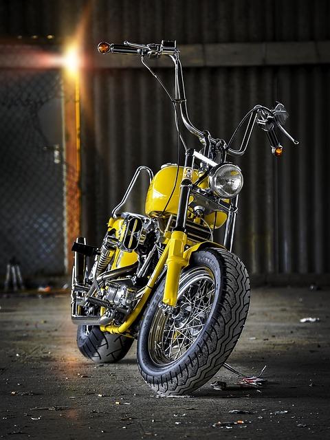 Motorcycle, Rocker, Harley Davidson