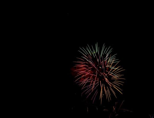 Rockets, Fireworks, Night, Parties, Pyrotechnics, Rays