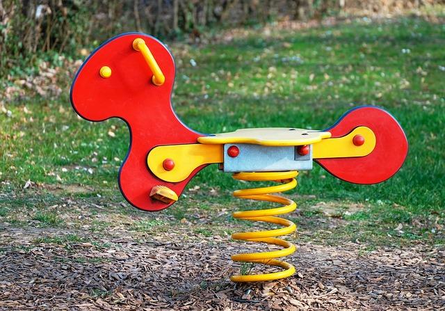 Rocking Horse, Children's Playground, Game Device