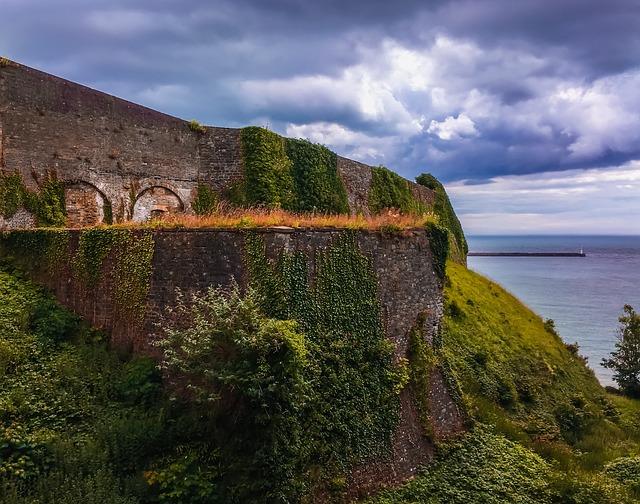 Dover, Cliff, British, Travel, European, Scenery, Rocks