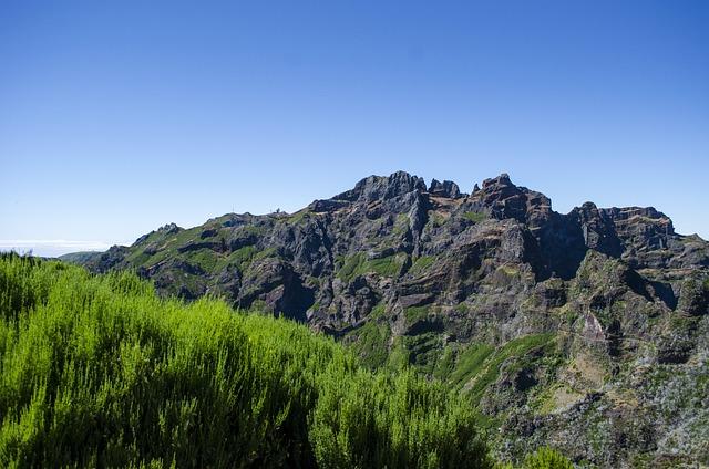 Madera, Mountains, Nature, Landscape, Portugal, Rocks