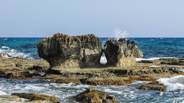 Cyprus, Cavo Greko, Rock, Rocky Coast, Sea