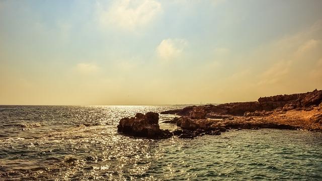 Rocky Coast, Sea, Afternoon, Nature, Landscape, Scenery