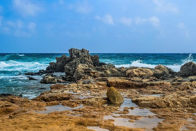 Rocky Coast, Rock, Sea, Landscape, Waves, Wind, Storm
