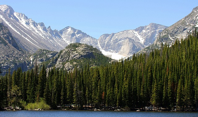 Rocky Mountains, Usa, Water, Mountain Summit, Mountains