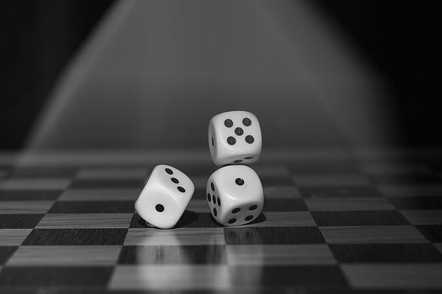 Roll The Dice, Craps, Board Game, Points, Random