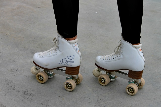 Roller Skates, Skaters, Skating, Training, Sport