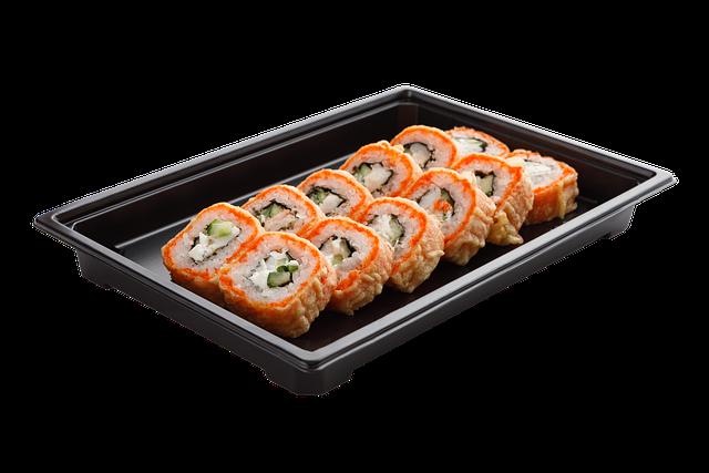 Sushi, Rolls, Japanese Food