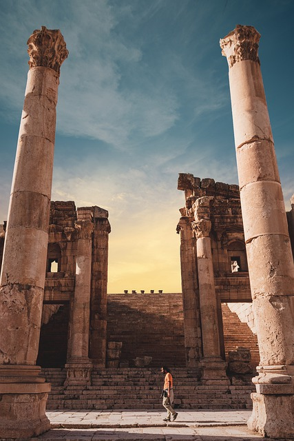 Ancient, Roman Ancient, Roman, Architecture, Jordan