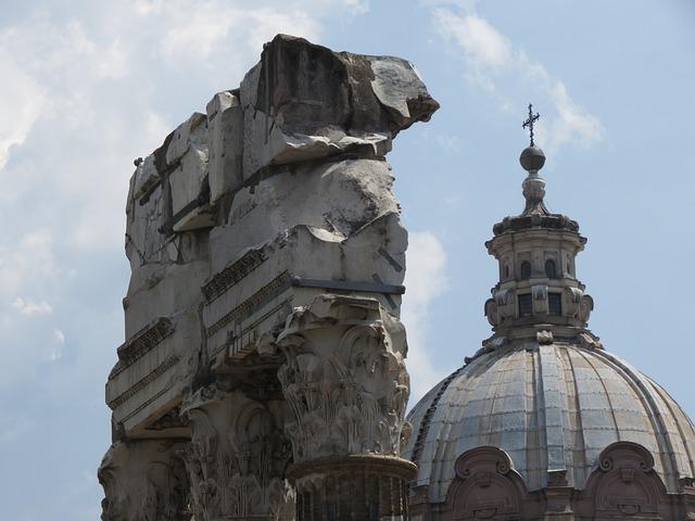 Roman Forum, Rome, Italy, Church Of Lucas And Martina S