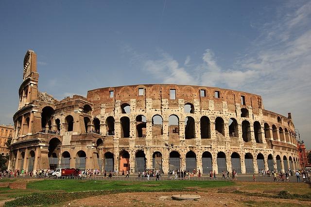 The Colosseum, Roman, Italy
