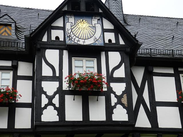Crottorf, Castle, Moated Castle, Architecture, Romance