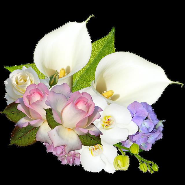 Png, Cluster, Scrapbooking, Wedding, Flowers, Romance