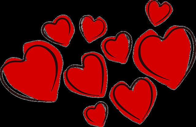 Hearts, Valentine, Love, Romance, Holiday, Celebration