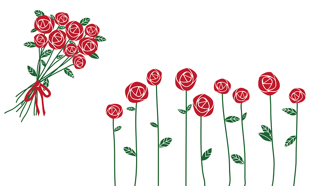 Valentine's Day, Roses, Bouquet, Love, Romance, Flowers