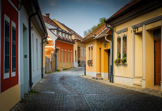 Esztergom, Street, Alley, Romance, Romantic End