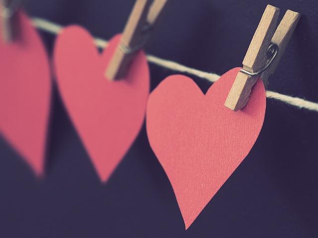 Romance, Love, Heart, Hanging, Valentines Day