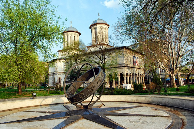 Bucharest, Romania, Romanian Orthodox, Church, Building