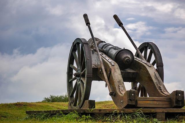 Alba-iulia, Cannon, City, Defense, Romania