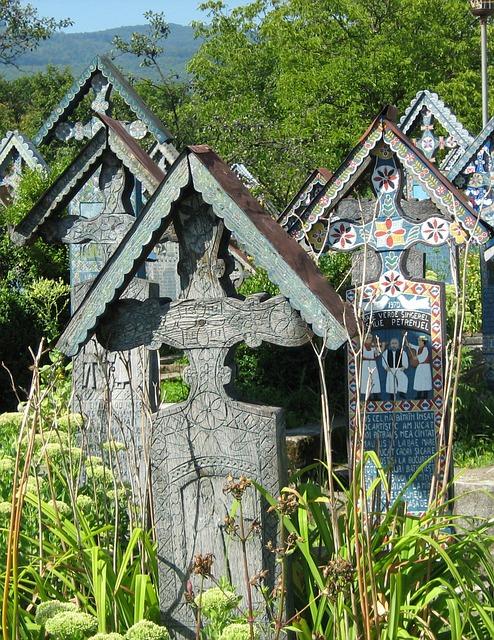 Happy, Cemetery, Halloween, Holiday, Sapanta, Romania