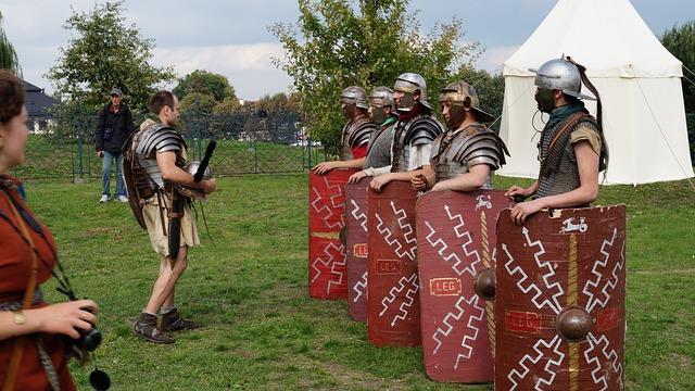 Romans, Romans Legionaries, Historical Reconstruction