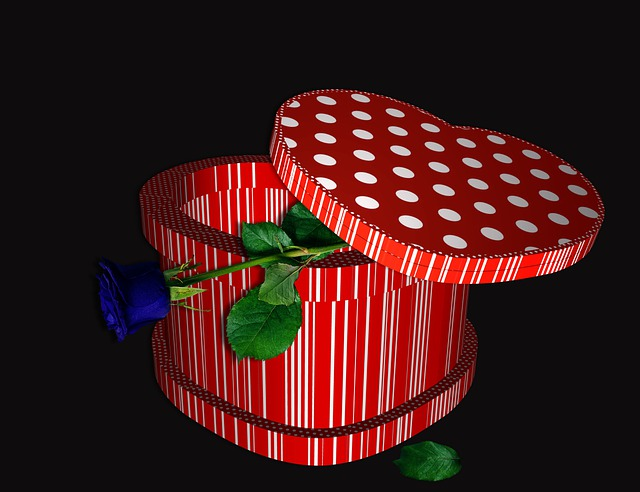 Box, Romantic, Gift, Wishes, Color, Red, Decorative