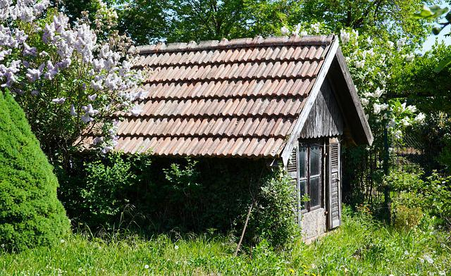 Garden Shed, Old, Garden, Nature, Romantic, Cottage