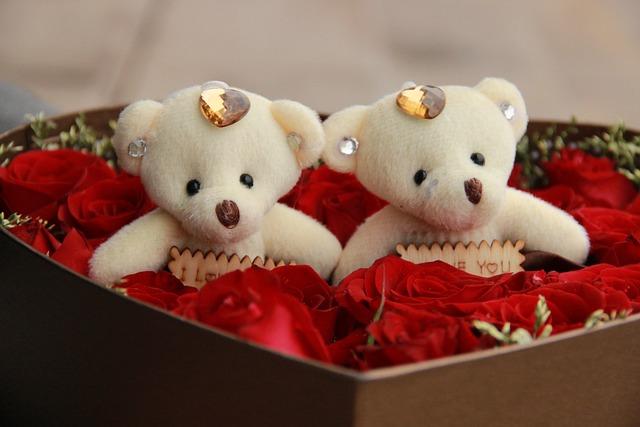 Love, Rose, Cubs, Gift, Flower, Romantic
