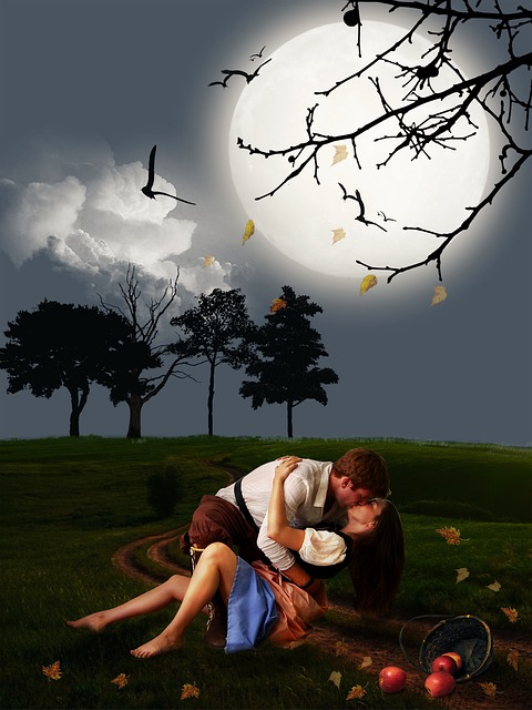 Couple, Lover, Romantic Scene, Scene, Lovers, Romantic