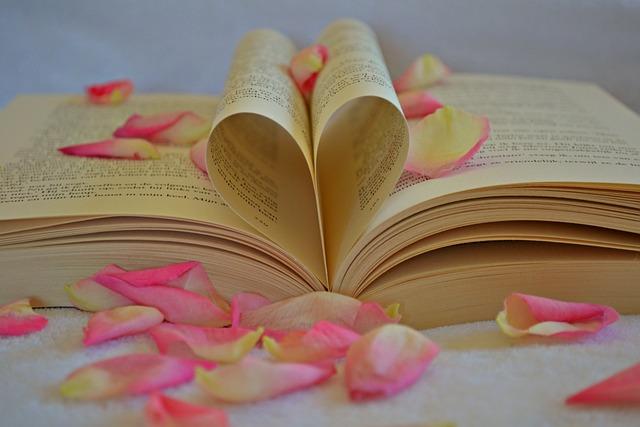 Book, Heart, The Heart Of, Romantic, Romance, Valentine