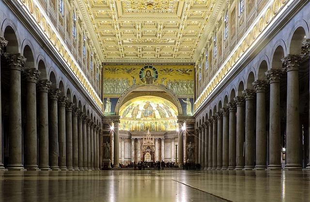 Rome, Lazio, Italy, Basilica