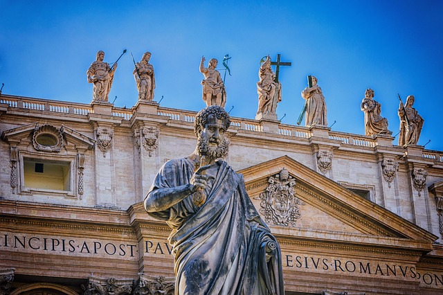 Apostle, Bible, Rome, St Peter's Basilica, Italy, Faith